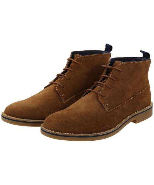 Men's Joules Dene Suede Ankle Boots - Tan