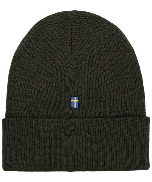 Fjallraven Classic Knit Hat - Dark Olive
