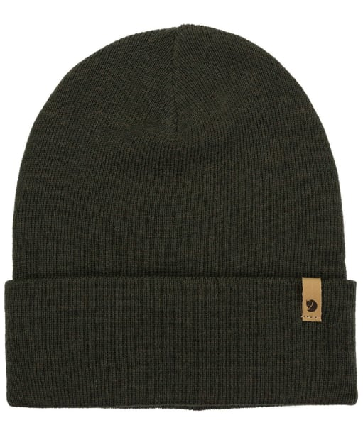 Fjallraven Classic Knit Hat - Dark Olive