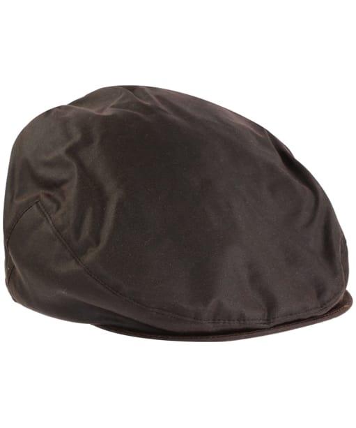 Jack Murphy Waxed Flat Cap - Brown