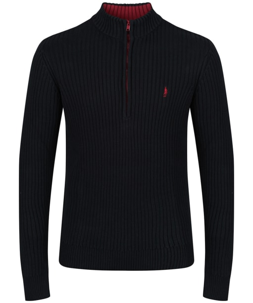 Men's Jack Murphy Carlton Jumper - Pitch Black