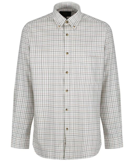 Men's Viyella Lovat Tattersall Button Down Shirt - Lovat