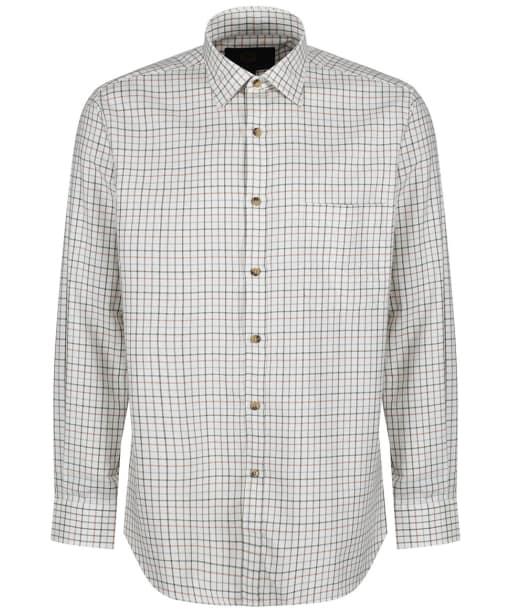 Men's Viyella Lovat Green Tattersall Shirt - Lovat