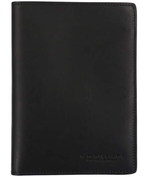R.M. Williams City Passport Cover - Black