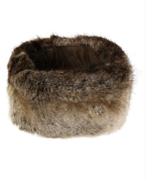 Women's Joules Liza Faux Fur Headband - Reindeer