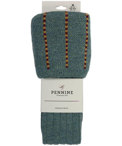 Men's Pennine Devonshire Shooting Socks - Tweed Lovat