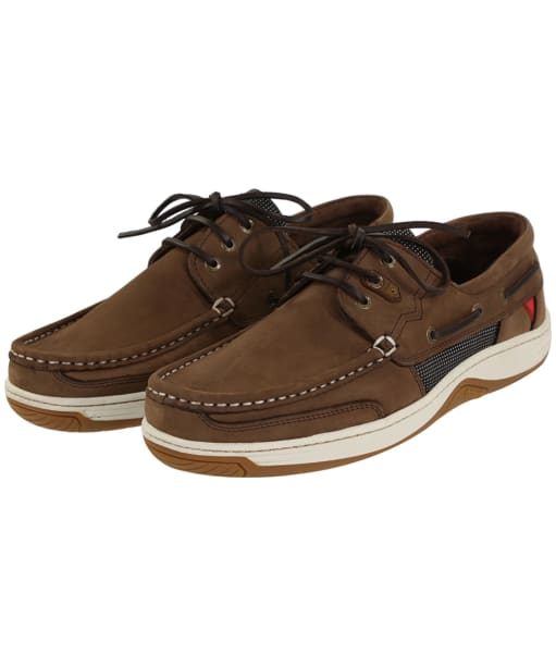 Men's Dubarry Regatta Extrafit™ Deck Shoes - Donkey Brown