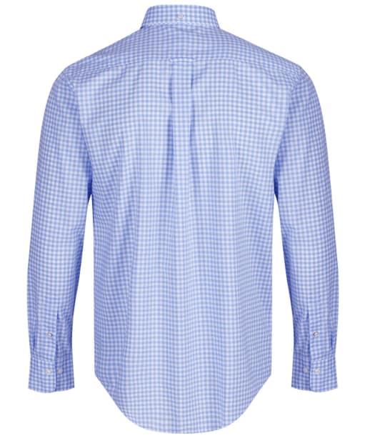 Men's GANT The Regular Broadcloth Gingham Shirt - Capri Blue
