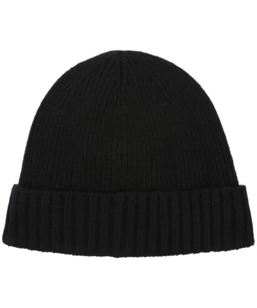 Men's Barbour Carlton Beanie Hat - Black