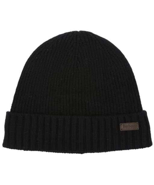 Men's Barbour Carlton Beanie Hat - Black