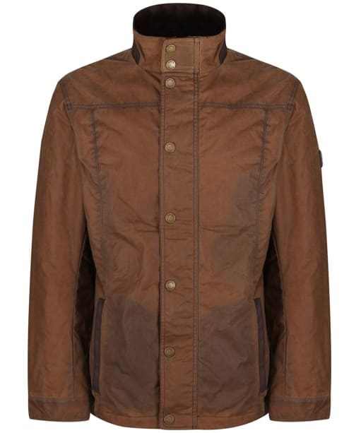 Men's Dubarry Carrickfergus Waxed Jacket - Cigar