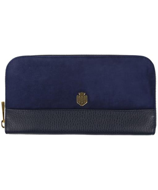 Women's Fairfax & Favor Salisbury Leather Purse - Navy Blue
