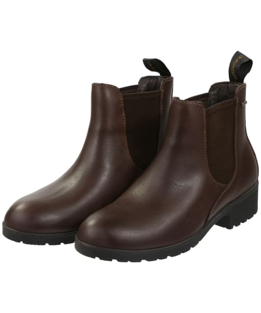Women's Dubarry Waterford Chelsea Boot - Mahogany