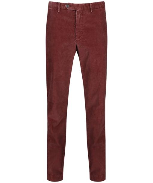Men's Hackett Corduroy Trousers - Terracotta