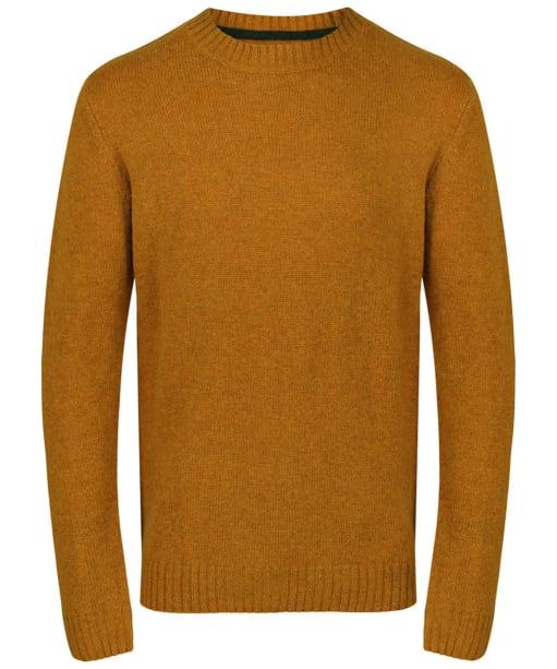 Men's Joules Wooler Crew Neck Sweater - Yellow Marl