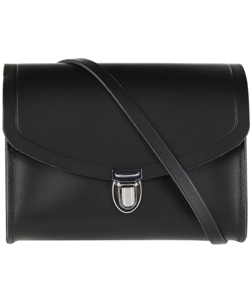 Women's The Cambridge Satchel Company Push Lock Leather Bag - Black