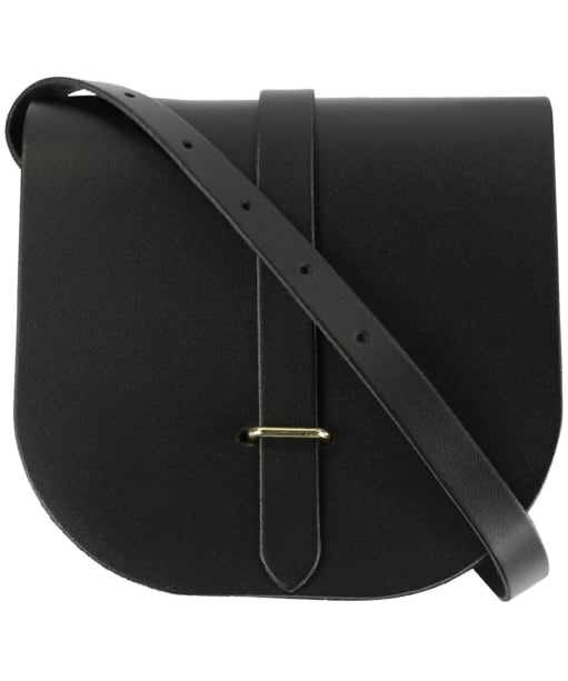 Women's The Cambridge Satchel Company Leather Saddle Bag - Black