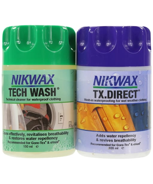 Nikwax Tech Wash® and TX Direct® Duo Pack - No Colour