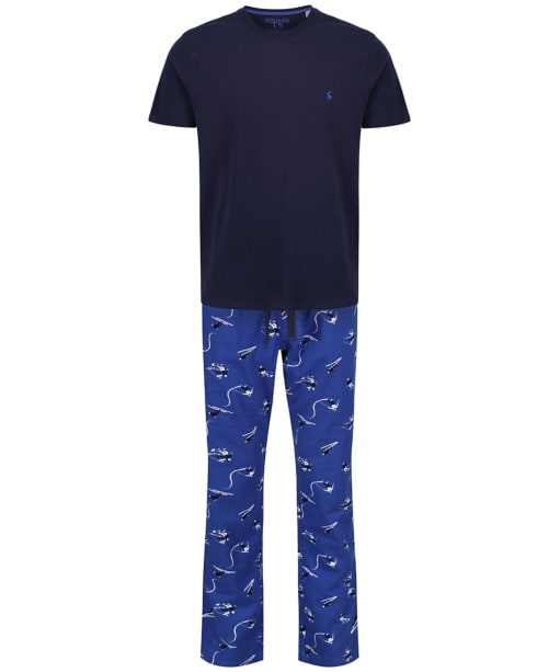 Men's Joules Goodnight Lounge Gift Set - Blue Ski