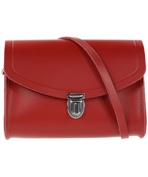 Women's The Cambridge Satchel Company Push Lock Leather Bag - Red