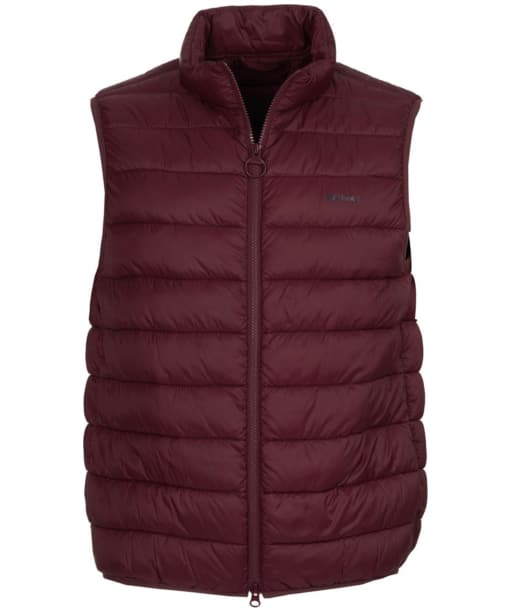 Men's Barbour Bretby Gilet - Aubergine