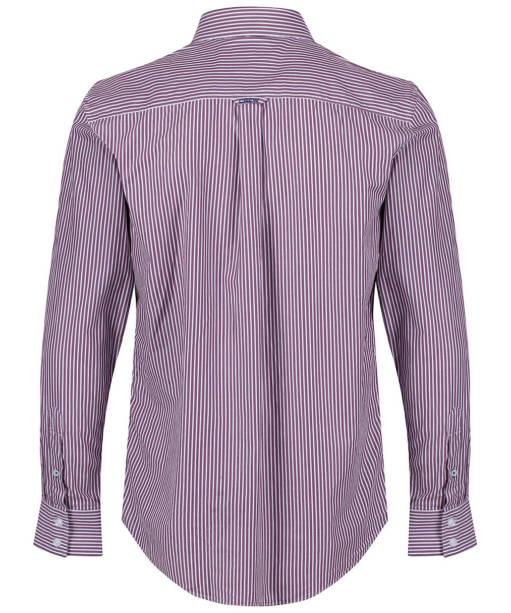 Men's Crew Clothing Classic Stripe Shirt - Washed Plum