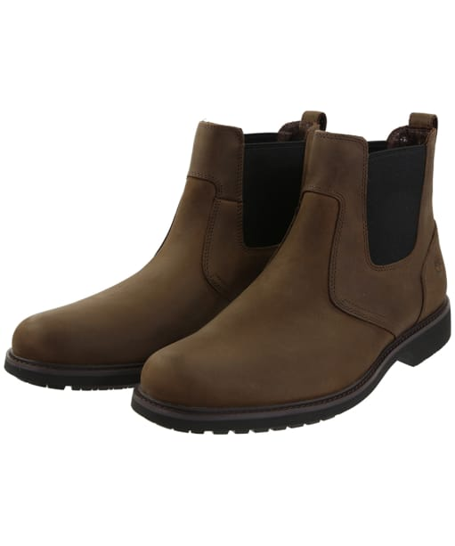 Men's Timberland Stormbucks Chelsea Boots - Dark Brown