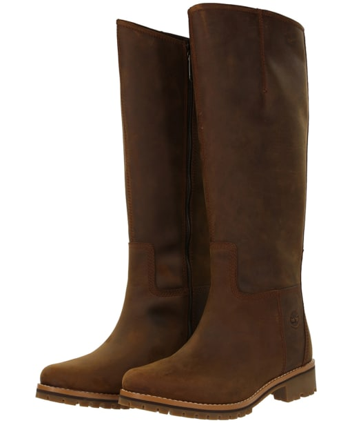 Women's Timberland Main Hill Tall Waterproof Boots - Cathay Spice