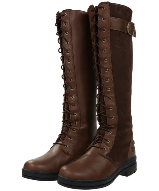 Women's Ariat Coniston Waterproof Insulated Boots - Chocolate / Brown