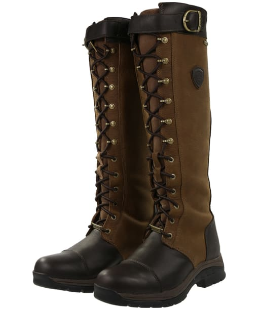 Women's Ariat Berwick Gore-Tex® Insulated Boots - Ebony Brown