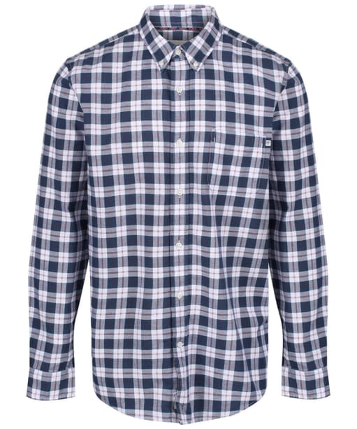 Men's Timberland Pleasant River Oxford Regular Shirt - Pomegranate