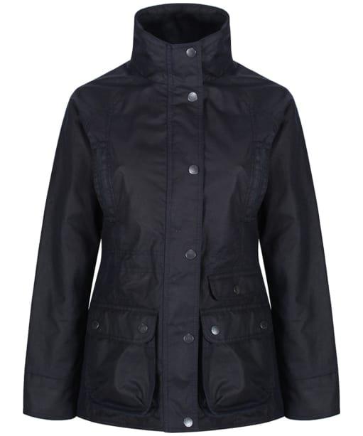 Women's Jack Murphy Fallon Wax Jacket - Heritage Navy