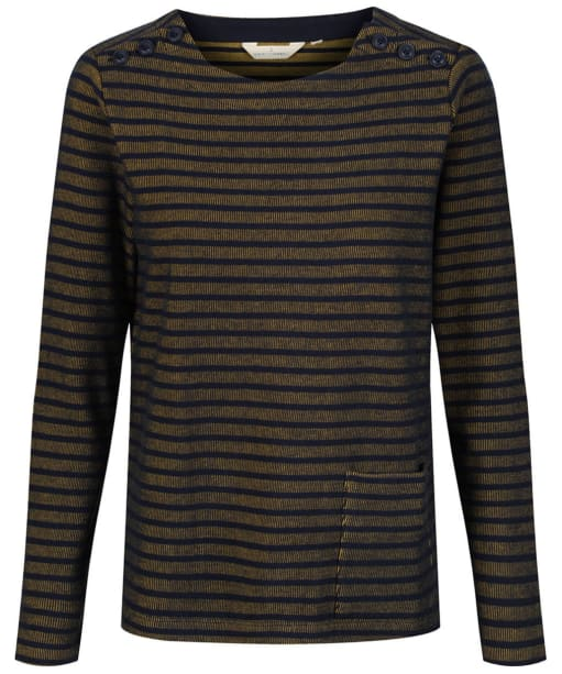 Women's Seasalt St Gluvias Sweatshirt - Tregurrow Dark Hay