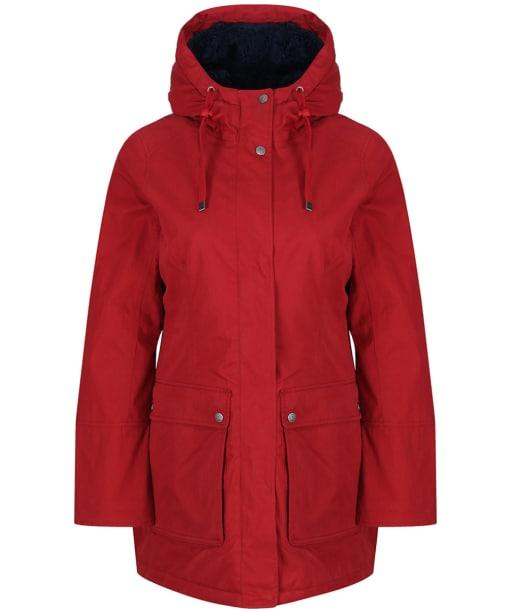Women's Seasalt Maenporth Waterproof Jacket - Dahlia