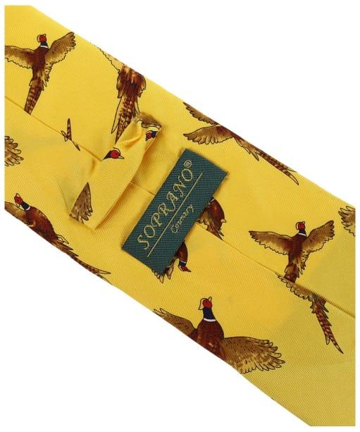 Men's Soprano Flying Pheasants Tie - Gold