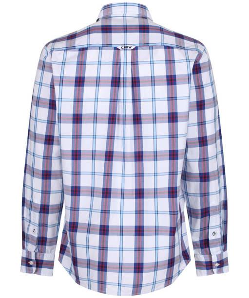 Men's Crew Clothing Bamburgh Classic Check Shirt - Ultramarine / Red