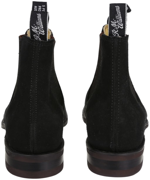 Men's R. M. Williams Comfort Craftsman Suede Boots - G Fit - Black