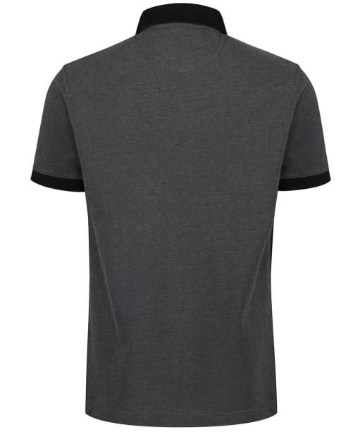 Men's Barbour Sports Polo Mix Shirt - Black