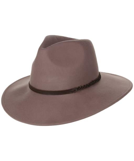 Barbour Tack Fedora Hat - Latte