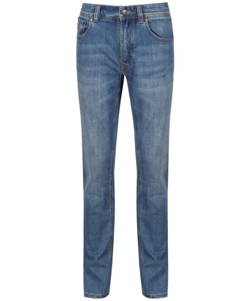 Men's Crew Clothing Parker Jeans - Mid Wash