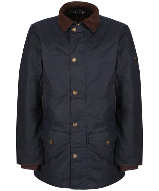 Men's Dubarry Headford Waxed Jacket - Navy