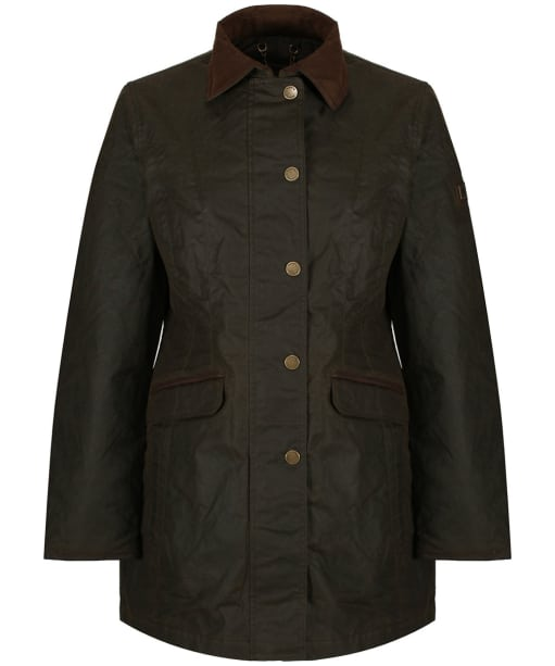 Women's Dubarry Baltray Waxed Jacket - Olive
