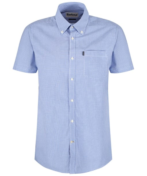 Men's Barbour Triston Shirt - Aqua