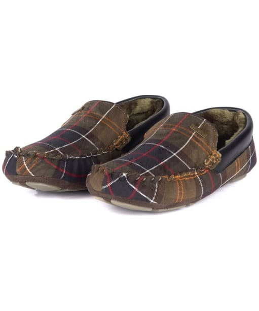Men's Barbour Monty House Slippers - Barbour Classic