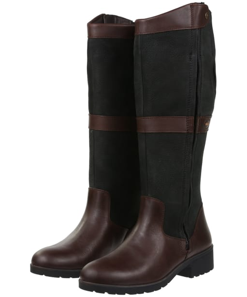 Women's Dubarry Sligo Boots - Black / Brown