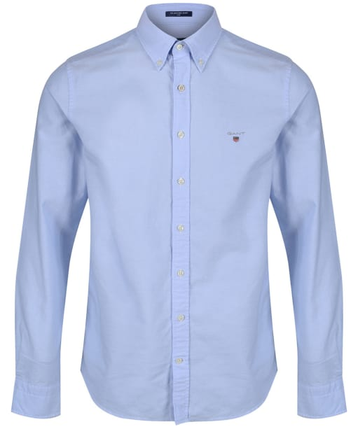 Men's GANT Slim Oxford Shirt - Capri Blue