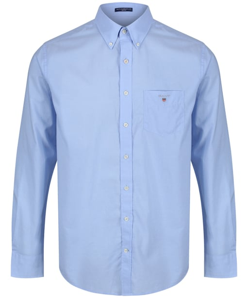 Men's GANT Regular Broadcloth Shirt - Hamptons Blue