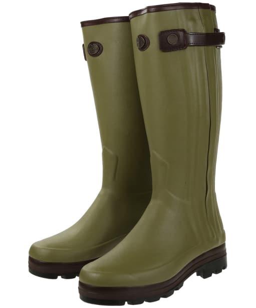 Men's Le Chameau Chasseur Neo Prestige Wellington Boots - Vert Vierzon