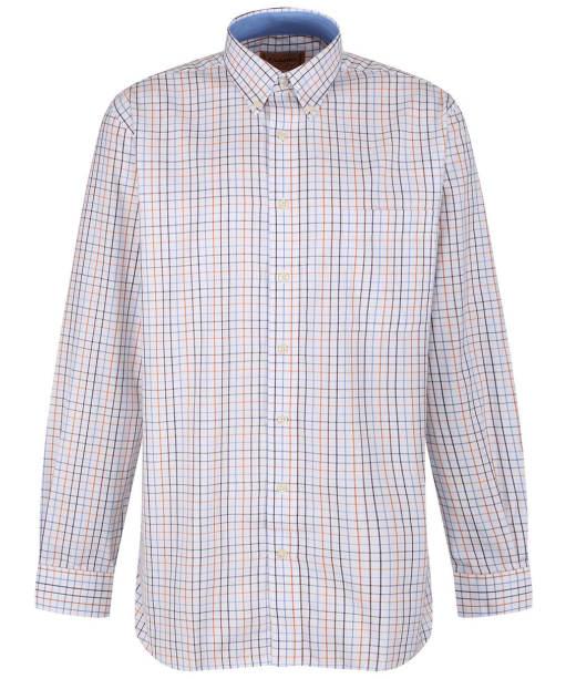 Men's Schoffel Banbury Shirt - Ochre Check