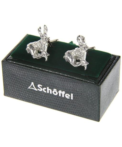Men's Schöffel Cufflinks - Pewter Hare